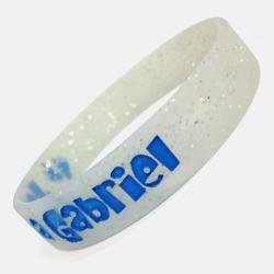 Glitter Paint Wristband
