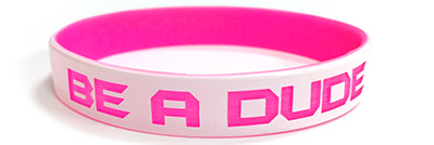 Color Coated Wristband