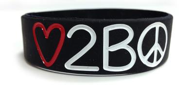 Three Quarter Inch Wristband